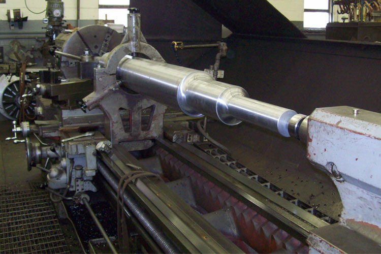 Machined Shafts can be created in various steel & stainless steel alloys & hardened as needed.